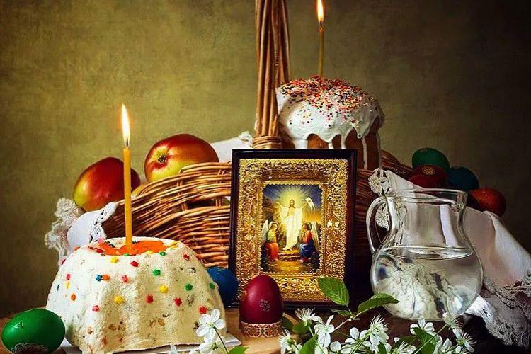 Благословение пасхальной трапезы в домашних условиях